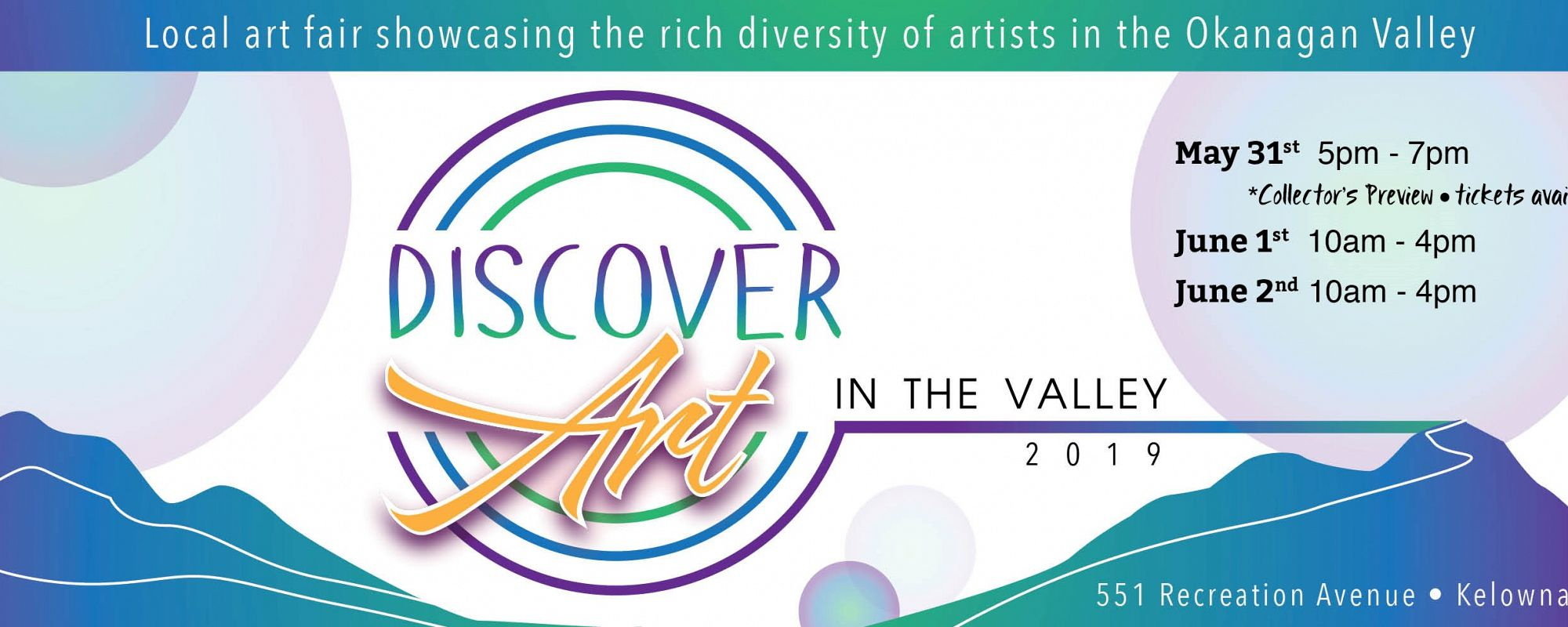 Discover Art in the Valley '19