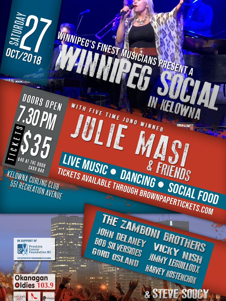 2018 Winnipeg Social for Prostate Cancer