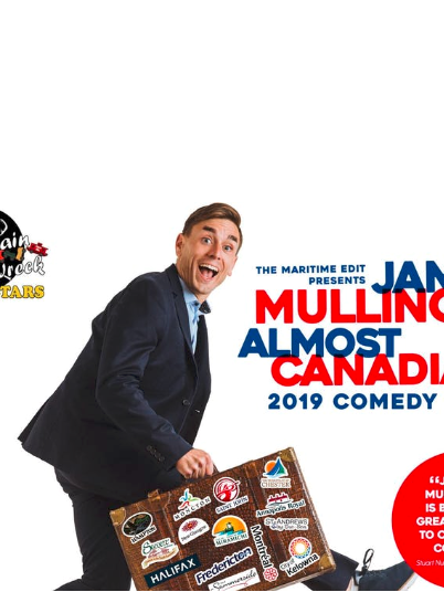 James Mullinger Almost Canadian 2019 Comedy Tour